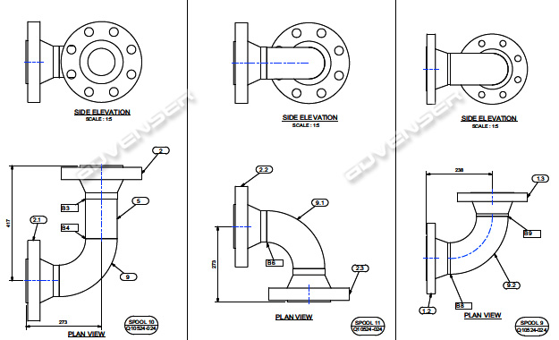 Mechanical spool drawing