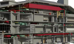 Virtual building construction