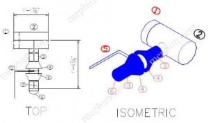 pipe spool drawing