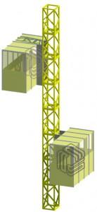 Revit family modling- material - Handling lift